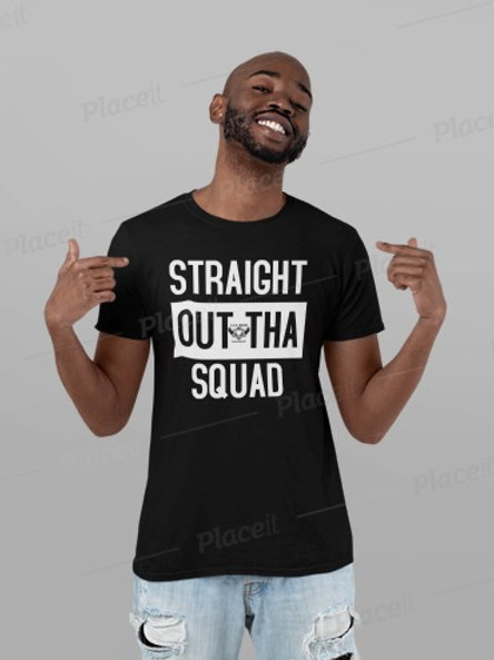 Straight Out The Squad Tee