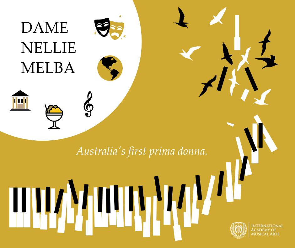 Dame Nellie Melba Australia's first prima donna