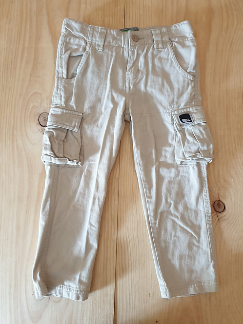 Cream Lizzard Pants