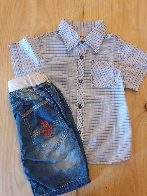 Boys denim outfit