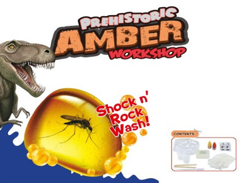 Chemical experiment series : Prehistoric amber work