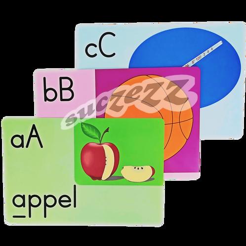 A4 flashcards