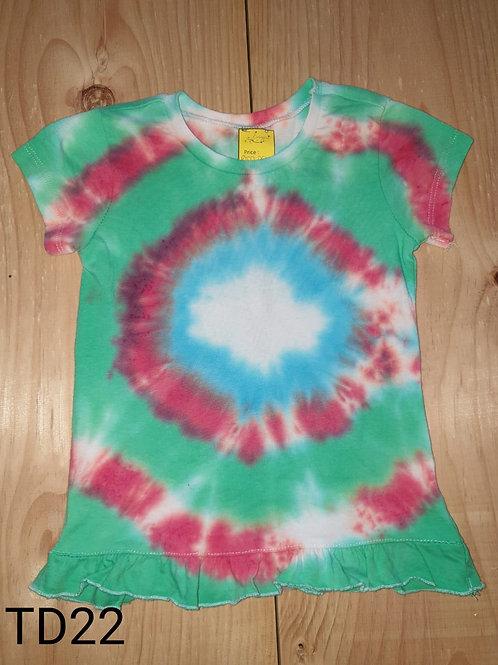 Tie dye shirt3-4 years