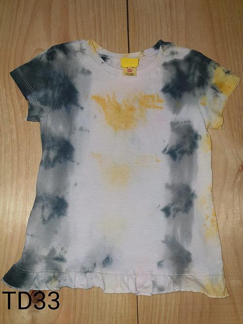 Tie dye shirt 5-6 years