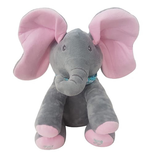 Plush Peek-a-boo Elephant