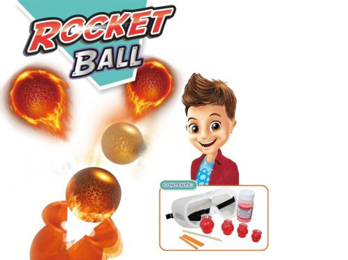 Chemical experiment series : Rocket ball