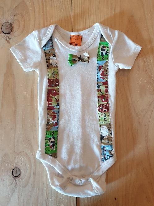 Farm theme vest