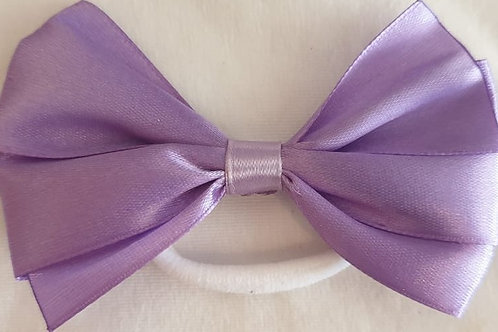 Plain bows on elastic large