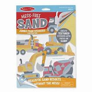 Mess free sand