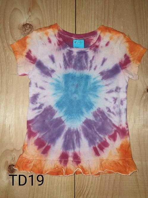 Tie dye shirt 2-3 years