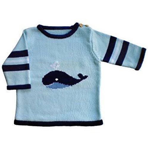 Whale tale sweater