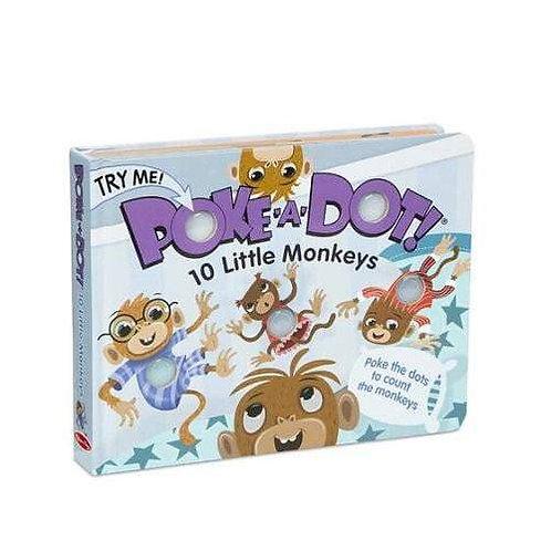 Poke-a-dot : 10 Little Monkeys
