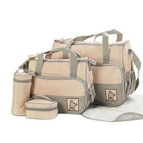 5 in 1 Multifunction Baby Bag
