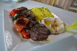 Beef Kabob Plate