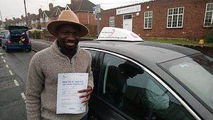 automatic driving lessons wokingham