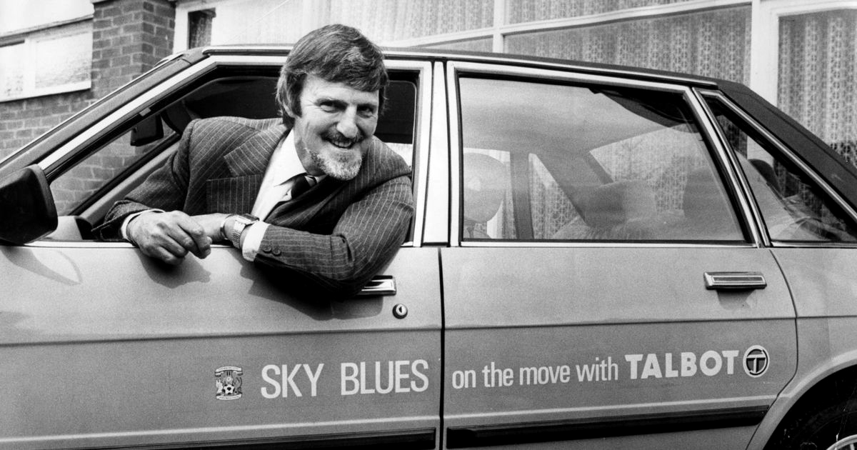Jimmy Hill - Talbot sponsoring Coventry City FC - 16th August 1980