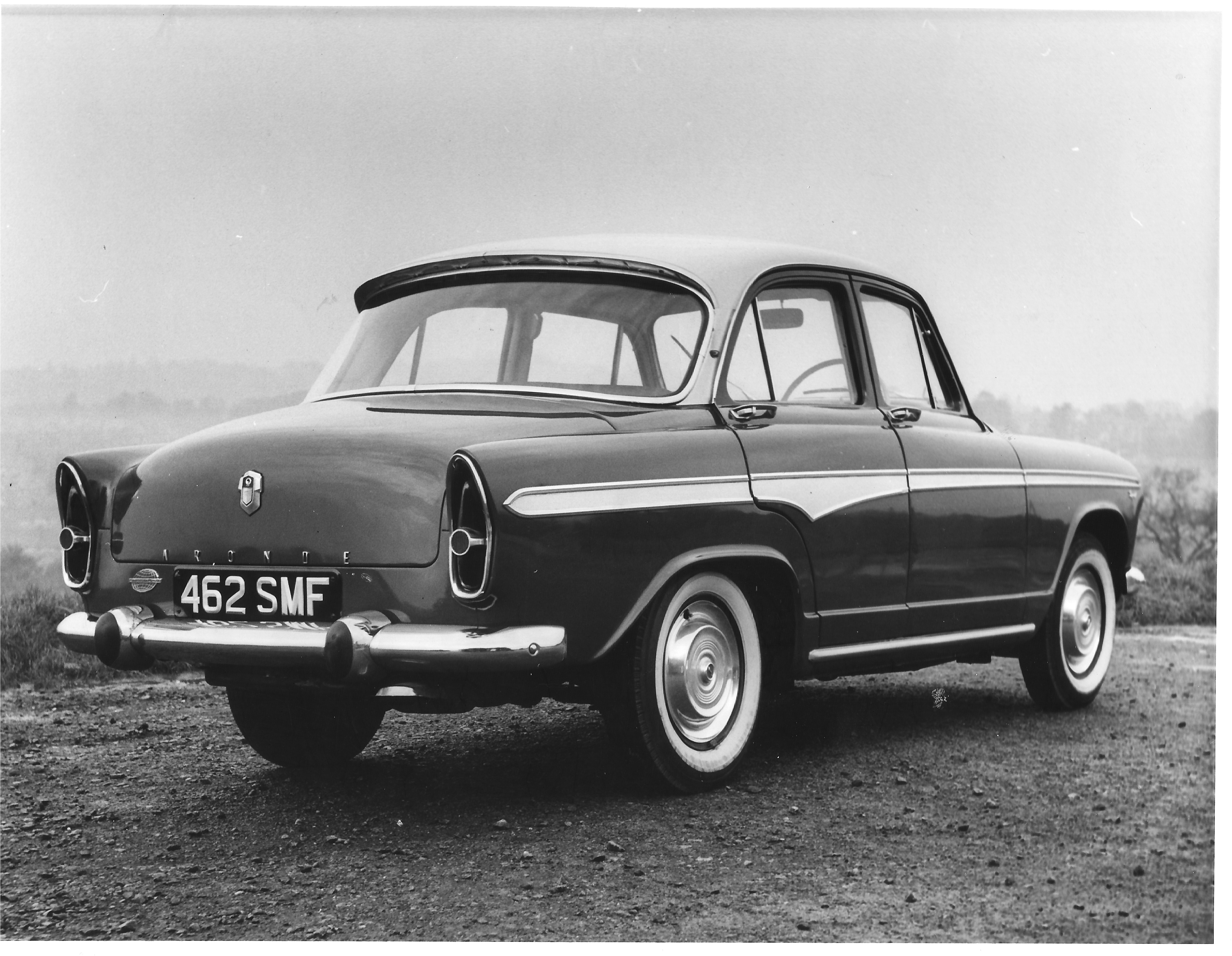 Aronde P60 Road test car 1959