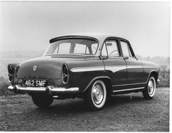 Aronde P60 Road test car 1959