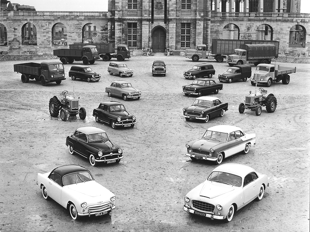 1955 product line up
