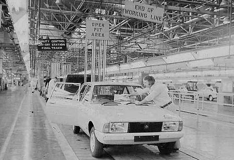Alpine Production Line at Ryton