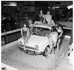 Simca 1000 at Earls Court 1962