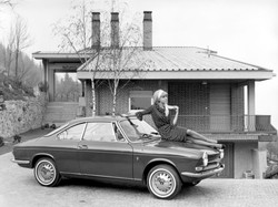 Simca 1000 Coupe - Promotional photo 1960s