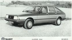 Talbot Alpine GLS