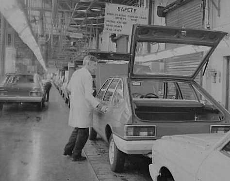 Chrysler Alpine Production Line at Ryton