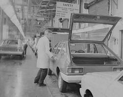 Chrysler Alpine Production Line at Ryton