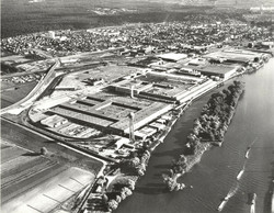 Simca Factory at Poissy 1967