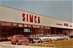 Simca Showroom - location unknown 2