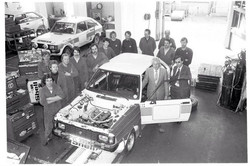 Rootes Competition Department in Coventr