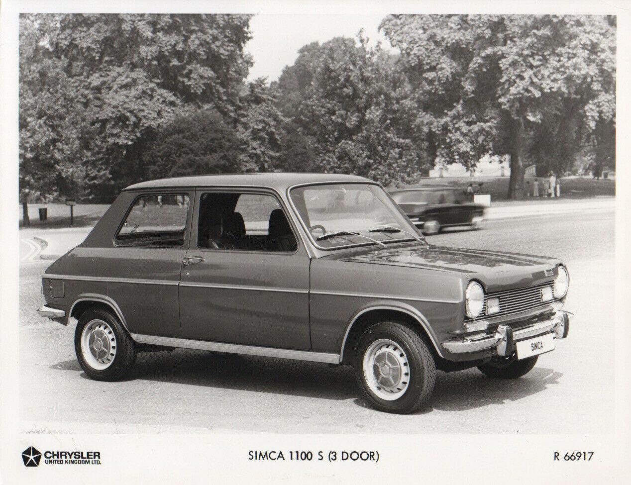 Simca 1100 3 door