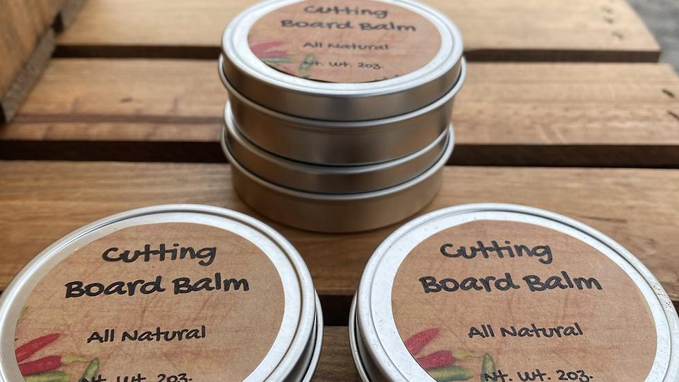 Natural Cutting Board Balm