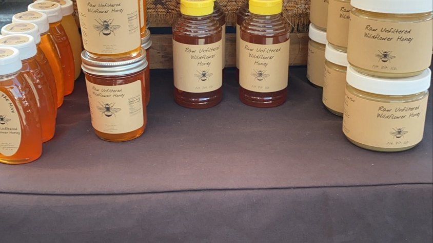 8oz. Raw Unfiltered Honey
