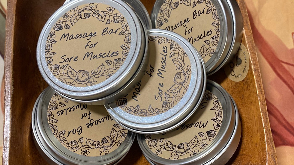 Massage Bar for sore muscles