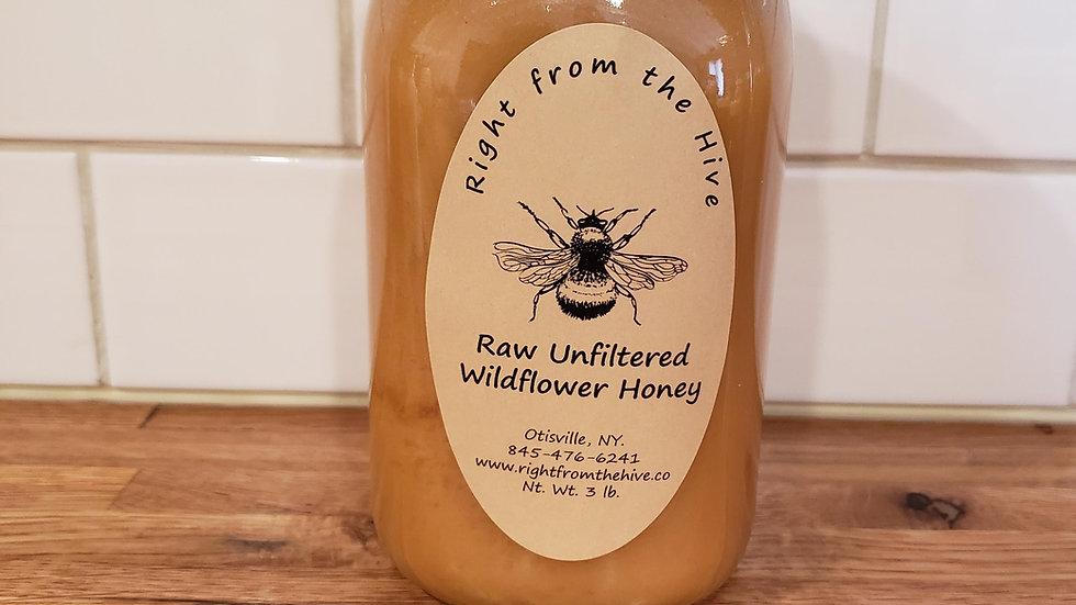 3lb. Raw Unfiltered Honey
