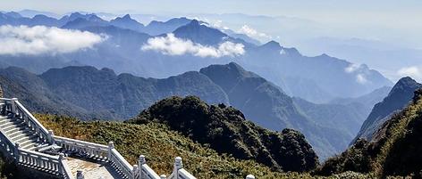Steps to fansipan peak