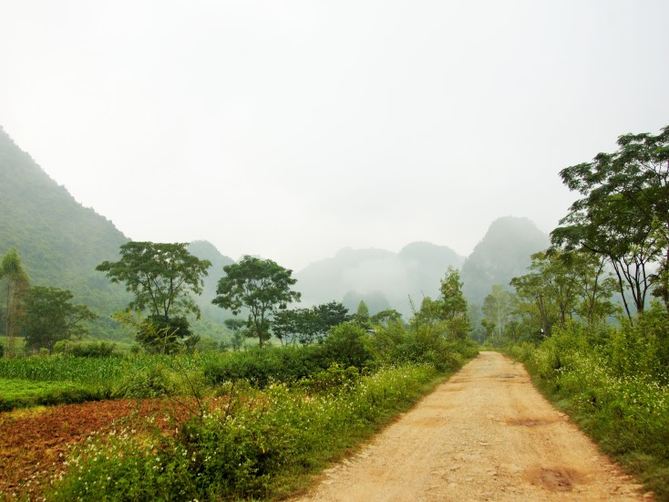 Back road in Bac Son