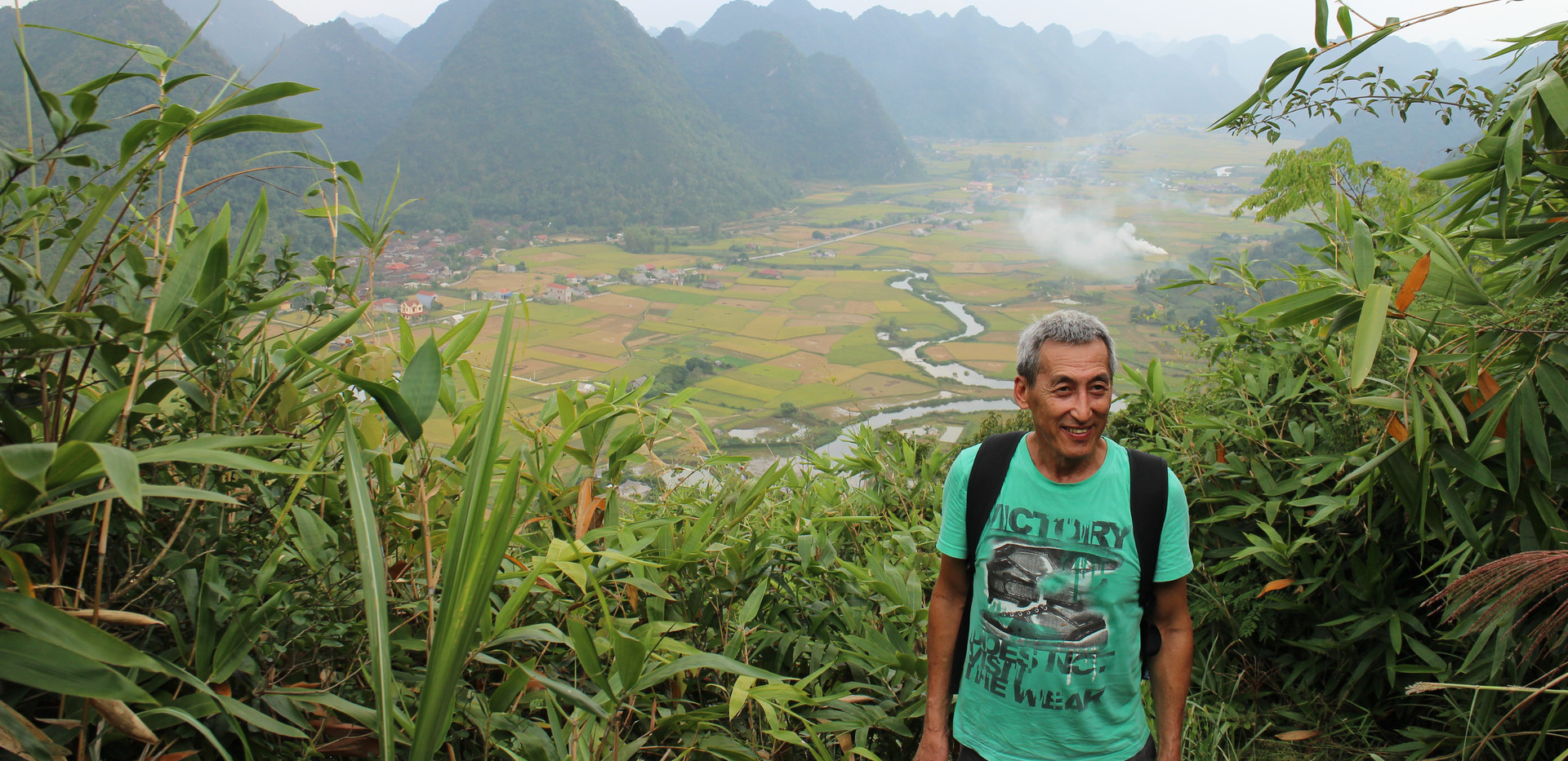 Bac Son traveler's experience- the view from the top.