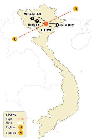 CV09- Mu Cang Chai & Halong