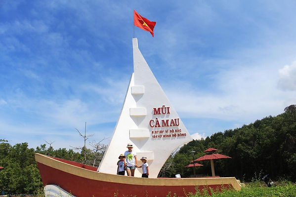Ca Mau the hidden places in southern Vietnam