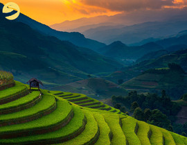 sun-set-mu-cang-chai-The hidden places in Northern Vietnam