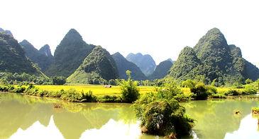 Cao Bang Scenery