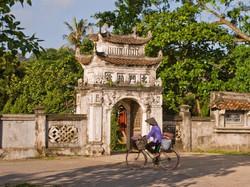 Gate to a temple in Hoa Lu