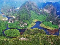 Trang An scenic landscape