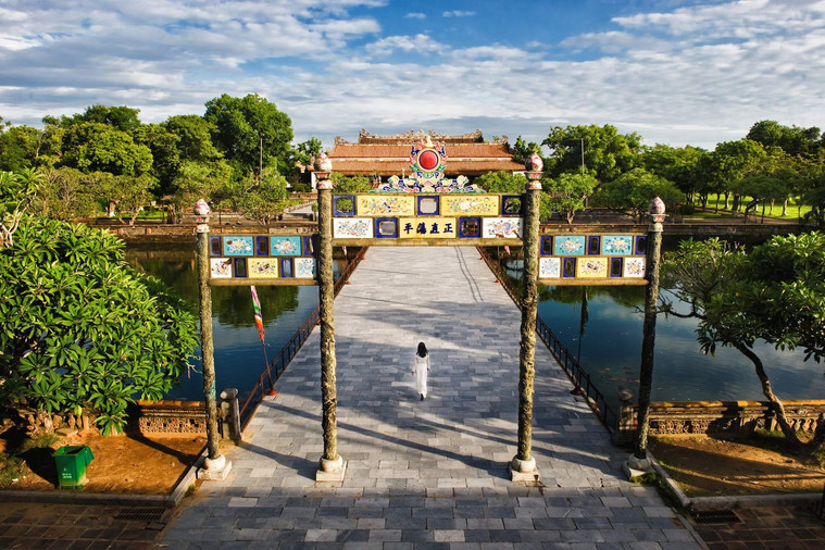 Hue Palace World Heritage Sites of Vietnam