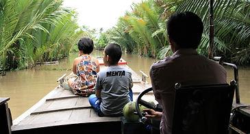 Ben Tre boat ride