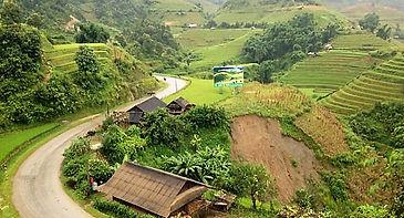 Road to Mu Cang Chai