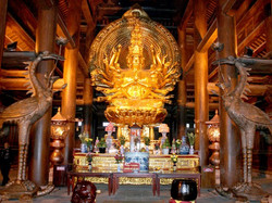 In Bai Dinh Pagoda